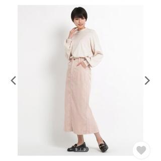エージーバイアクアガール(AG by aquagirl)のコーデュロイロングスカート(ロングスカート)