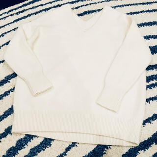 ドゥーズィエムクラス(DEUXIEME CLASSE)のドゥーズィエムクラス ホワイトニット セーター(ニット/セーター)