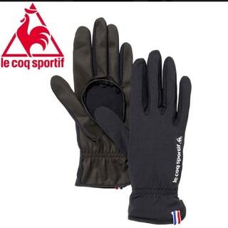 le coq sportif - ルコック テニス グローブ ブラック Mサイズ