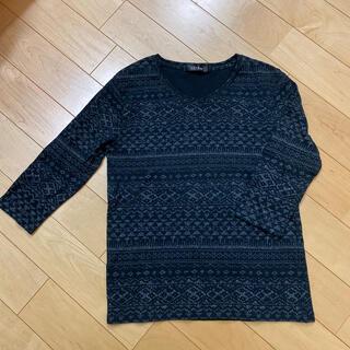 七部丈 トップス Lサイズ(Tシャツ/カットソー(七分/長袖))