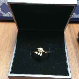アネモネ(Ane Mone)の大特価🌹Ane Mone ゴールドリーフリング(10~13号)(リング(指輪))