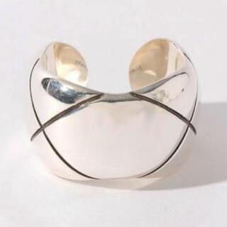 フィリップオーディベール(Philippe Audibert)の【PHILIPPE AUDIBERT】クロスリング SIL(リング(指輪))