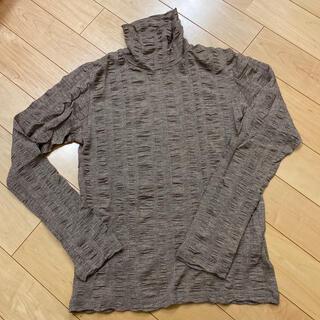 トルネードマート(TORNADO MART)のトルネードマート ネックトップス Lサイズ(Tシャツ/カットソー(七分/長袖))
