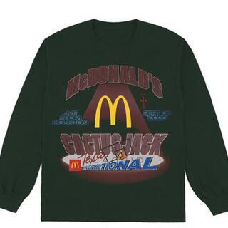 カクタス(CACTUS)のcactus jack  travis scott McDonald(Tシャツ/カットソー(七分/長袖))
