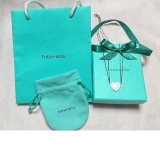 ティファニー(Tiffany & Co.)の【値下げ】リターントゥティファニー・ハートダブルチェーンネックレス・シルバー(ネックレス)