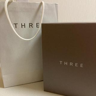 スリー(THREE)のthree ショップ袋 ボックス(ショップ袋)