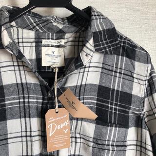 アメリカンイーグル(American Eagle)のアメリカンイーグル  チェックシャツ 新品 未使用 タグ付き(シャツ/ブラウス(長袖/七分))