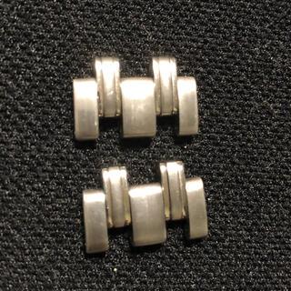 オメガ(OMEGA)のOMEGA シーマスター 18㎜ ベルト ブレス コマ 駒 バラ2個セット(金属ベルト)