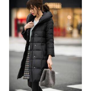 ジャスグリッティー(JUSGLITTY)のロングダウンコート ブラック 黒 ジャスグリッティー 2 M(ダウンコート)