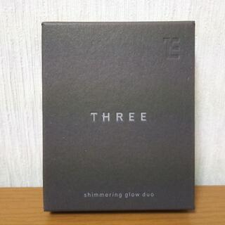 スリー(THREE)の[新品送料込] スリー シマリング グロー デュオ #01 6.8g THREE(フェイスカラー)