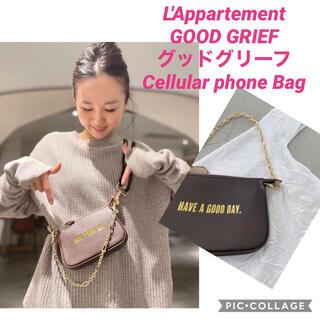 アパルトモンドゥーズィエムクラス(L'Appartement DEUXIEME CLASSE)の【GOOD GRIEF/グッドグリーフ】 Cellular phone Bag(ポーチ)