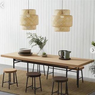 イケア(IKEA)のIKEA コルクダイニングテーブル(ダイニングテーブル)