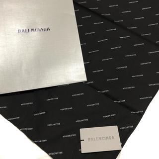 バレンシアガ(Balenciaga)の非売品! BALENCIAGA / バレンシア スカーフ、ハンカチ、風呂敷(バンダナ/スカーフ)