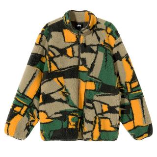 ステューシー(STUSSY)のstussy Block Sherpa Pullover フリース jacket(その他)
