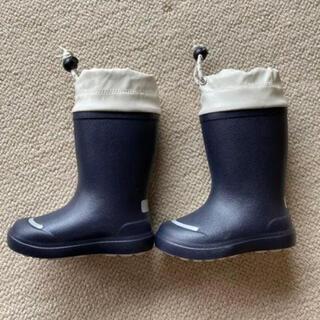 ムジルシリョウヒン(MUJI (無印良品))の試着のみ!無印良品 キッズ長靴 14-15cm(長靴/レインシューズ)
