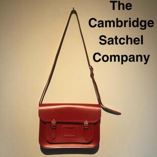コムデギャルソン(COMME des GARCONS)の本革 レザー ショルダーバッグ ケンブリッジ サッチェル カンパニー(ショルダーバッグ)
