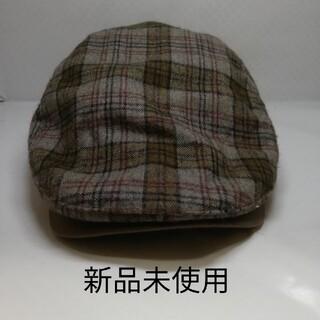 ハンチング 帽子 新品未使用(ハンチング/ベレー帽)