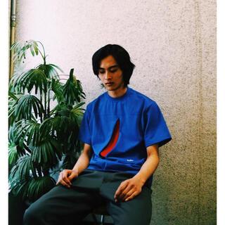 ジエダ(Jieda)のkudos 18ss Tシャツ ブルー(Tシャツ/カットソー(半袖/袖なし))
