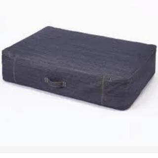 ムジルシリョウヒン(MUJI (無印良品))の無印のデニム素材布団袋(その他)