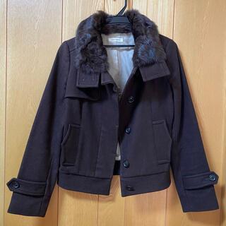 アーバンリサーチ(URBAN RESEARCH)のアーバンリサーチ ファー付きショートコート ジャケット(毛皮/ファーコート)