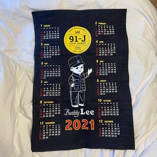 リー(Lee)のlee 2021 カレンダー デニム生地(カレンダー/スケジュール)