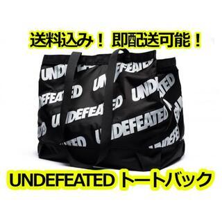 アンディフィーテッド(UNDEFEATED)のUNDEFEATED アンディフィーテッド トートバック バック 鞄 総柄 黒(トートバッグ)