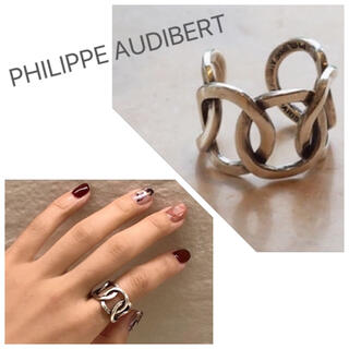 フィリップオーディベール(Philippe Audibert)の【WEB限定】PHILIPPE AUDIBERT サークルリング(リング(指輪))