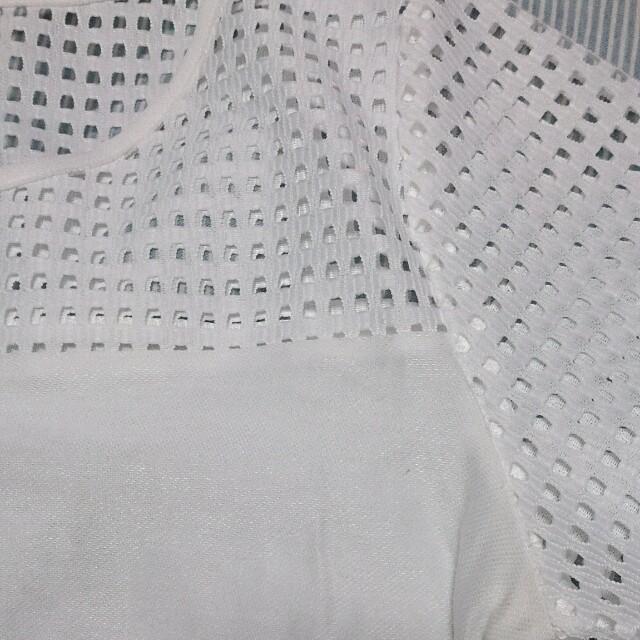 TIENS ecoute(ティアンエクート)の切替メッシュトップス レディースのトップス(カットソー(半袖/袖なし))の商品写真