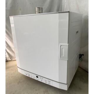 リンナイ(Rinnai)のほぼ未使用品 リンナイガス衣類乾燥機 LPガス乾太くん5.0kg RDT-52S(衣類乾燥機)