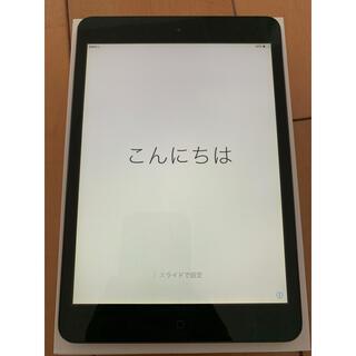 アイパッド(iPad)のiPad mini Wi-Fi セルラーモデル 16GB 美品 ブラック ②(タブレット)
