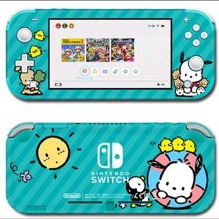 ニンテンドースイッチ(Nintendo Switch)のポチャッコ ニンテンドースイッチライトスキンシール#71 任天堂Switch(携帯用ゲームソフト)