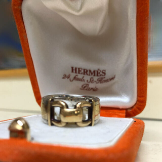 エルメス(Hermes)のHERMES リング10号くらい (リング(指輪))