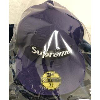 シュプリーム(Supreme)のsupreme Earflap New Era 7-1/2 purple(キャップ)