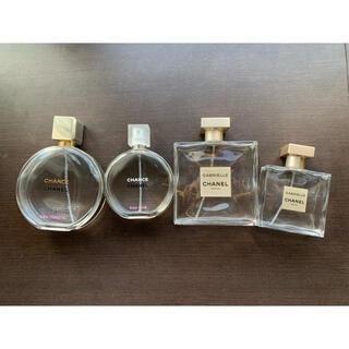 シャネル(CHANEL)のCHANEL香水 空き瓶4点セット(容器)