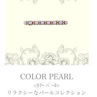アッカ(acca)の💖新品、未使用💖accaCOLOR PEARL ピンク(バレッタ/ヘアクリップ)