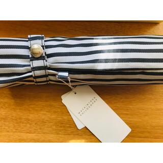 マッキントッシュフィロソフィー(MACKINTOSH PHILOSOPHY)のマッキントッシュフィソロフィ 折り畳み傘 ストライプ(傘)
