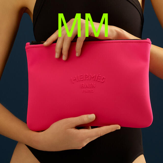 エルメス(Hermes)のネオバン MM   エルメス Bubble Gum ピンク 新品 未使用 ポーチ(クラッチバッグ)