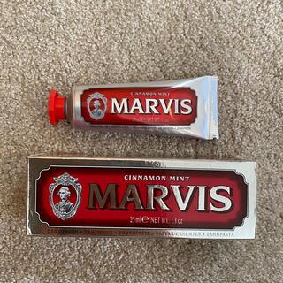 マービス(MARVIS)のMARVIS 歯磨き粉 25ml 新品未使用(歯磨き粉)