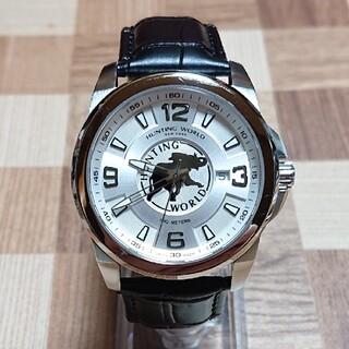 HUNTING WORLD - 【ハンティングワールド/HUNTING WORLD】クォーツ メンズ 腕時計