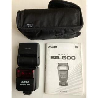 Nikon - ジャンク品 Nikon SB-600 ストロボ