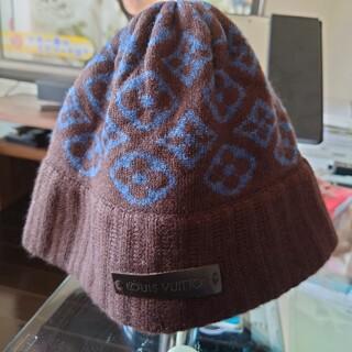 ルイヴィトン(LOUIS VUITTON)のLOUIS VUITTONニット帽 (正規品)(ニット帽/ビーニー)
