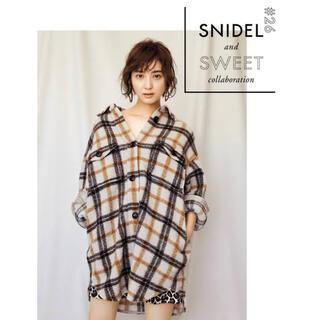 スナイデル(snidel)のウールチェックシャツジャケット (テーラードジャケット)