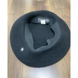 カシラ(CA4LA)のCA4LA カシラ GDC ベレー帽 黒(ハンチング/ベレー帽)