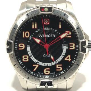 ウェンガー(Wenger)のウェンガー 腕時計 - 7707X メンズ 黒(その他)