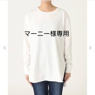 スピックアンドスパン(Spick and Span)のサイロプレミアムコットンロングT(Tシャツ(長袖/七分))