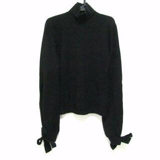 ヴァレンティノ(VALENTINO)のバレンチノ 長袖セーター サイズS - 黒(ニット/セーター)