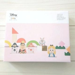 Disney - 新品未使用 KIDEA ディズニー 不思議の国のアリス 積み木