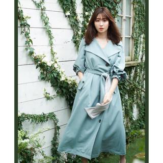 snidel - Belted Dress Trench Coat herlipto