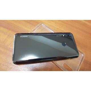ファーウェイ(HUAWEI)のHUAWEI nova lite 3  ミッドナイトブラック SIMフリー 美品(携帯電話本体)