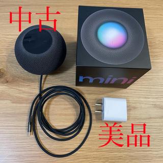 アップル(Apple)のapple HomePod mini  中古 美品(スピーカー)